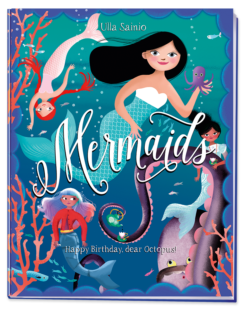 Mermaids Cover Display